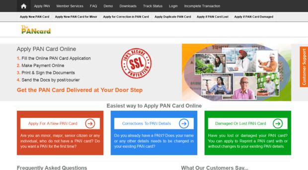 thepancard.com - Apply PAN Card Online - Apply ... - The PAN Card