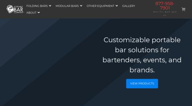 Superior Quality E Saving Portable Bars The Bar Compan