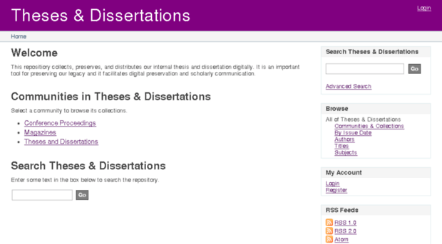 thesis site .edu This site helps graduate students track and complete their thesis and dissertation requirements please see wwwstudentsgraduateucfedu/etd for additional thesis.