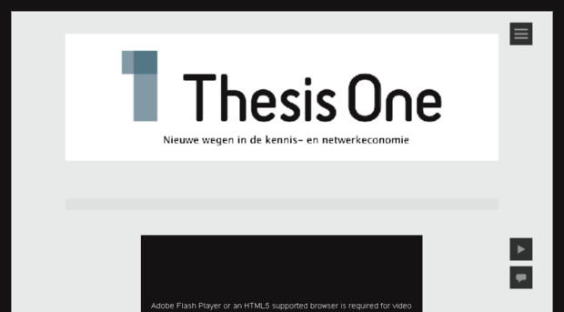 thesis 1 1) a thesis is the main (or controlling) idea of an essay, report, speech, or research paper, sometimes written as a single declarative sentence known as a thesis statement a thesis may be implied rather than stated directly.
