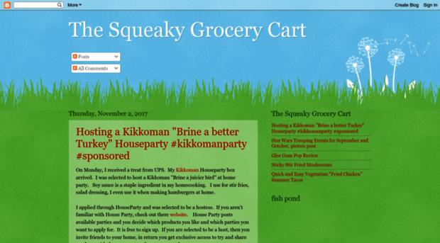 thesqueakygrocerycart.blogspot.com