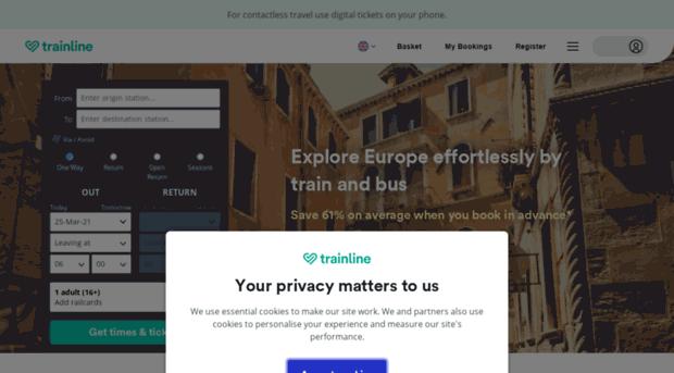 thetrainline-europe.com