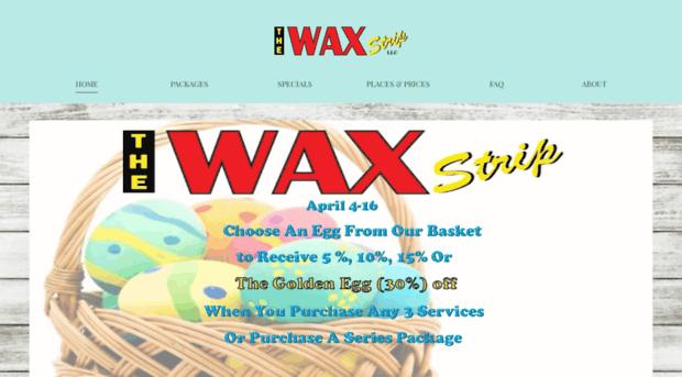 thewaxstrip.net