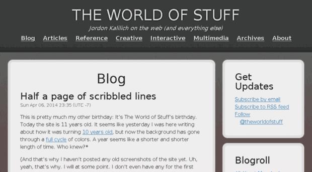 theworldofstuff.com