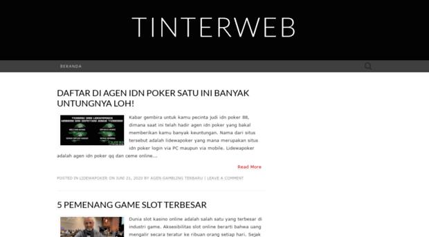 tinterweb társkereső Kína társkereső oldalak ingyenes