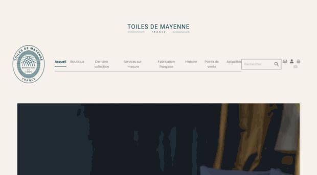 toiles-de-mayenne.com