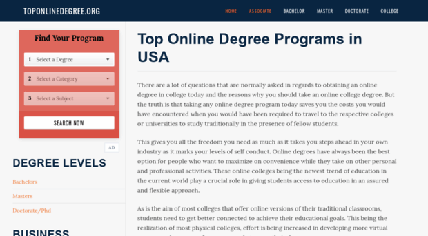 toponlinedegree.org