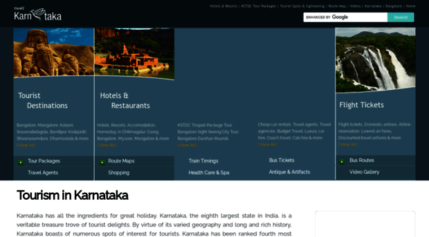 travel2karnataka.com