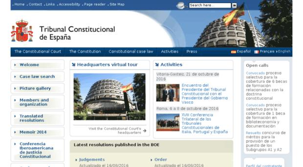 tribunalconstitucional.es