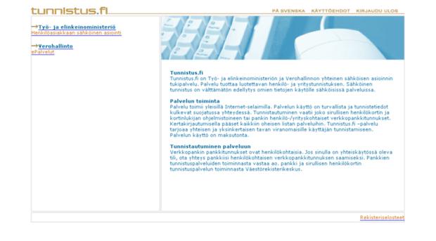 tunnistus.fi
