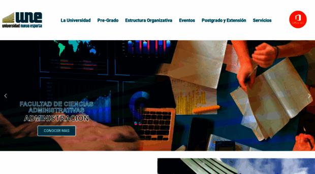 une.edu.ve