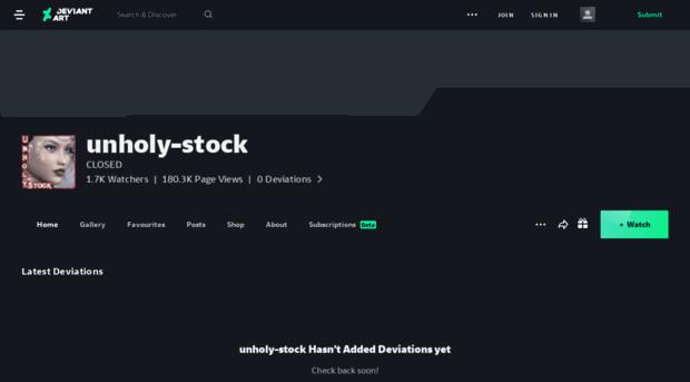unholy-stock.deviantart.com