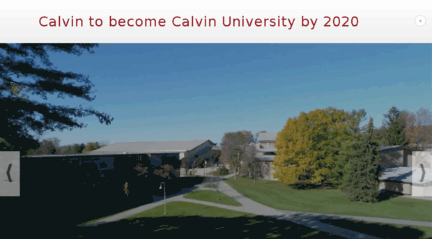 calvin college grand rapids michigan