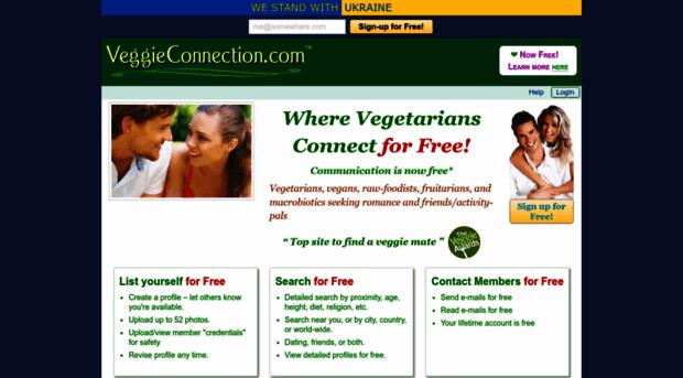 Online dating sites vegetarian