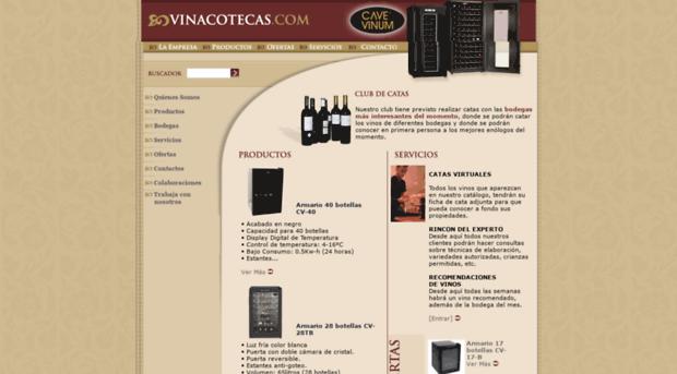 vinacotecas.com