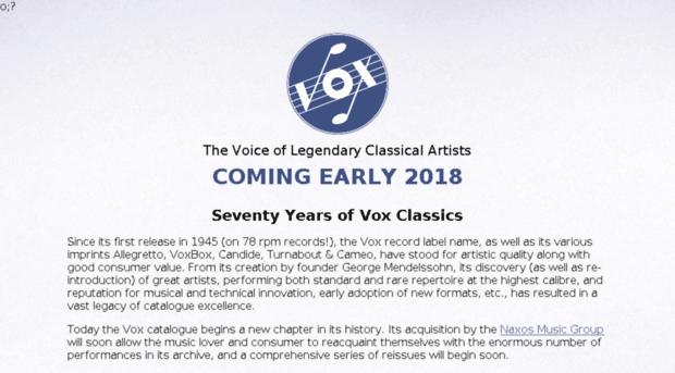 voxcd.com