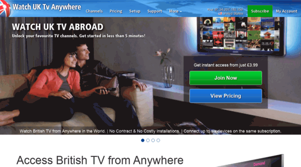 watch uk tv abroad free trial