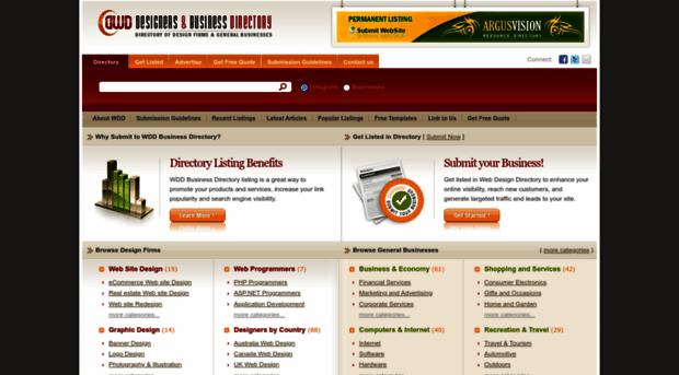Websites neighbouring for Designer directory