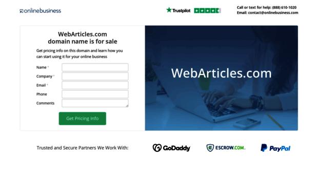 webarticles.com