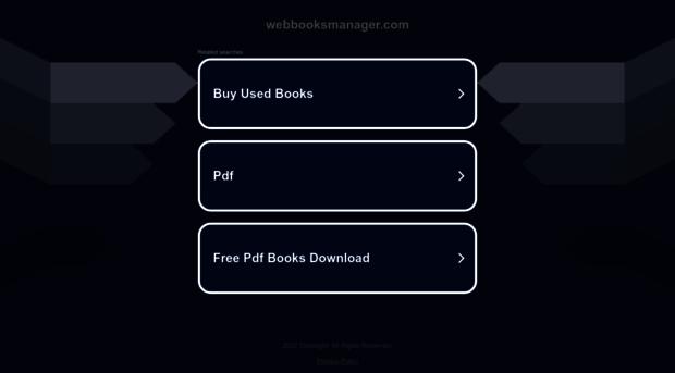 webbooksmanager.com