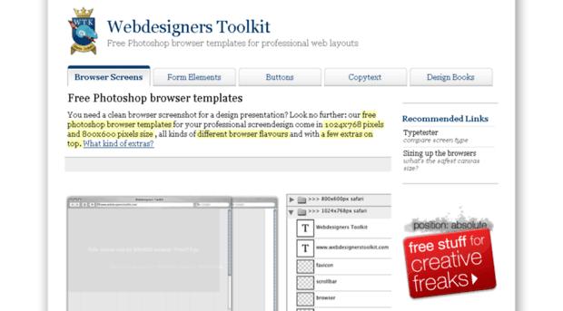 webdesignerstoolkit.com