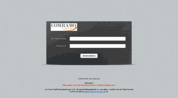 webmail.comramo.net