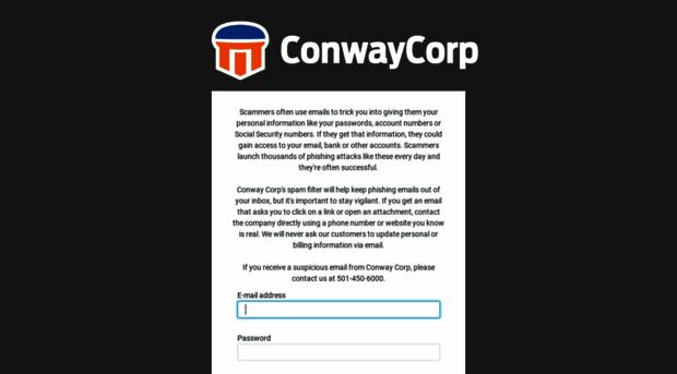 webmail.conwaycorp.net
