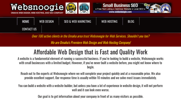 Websnoogie Com Affordable Web Design Omaha Web Snoogie