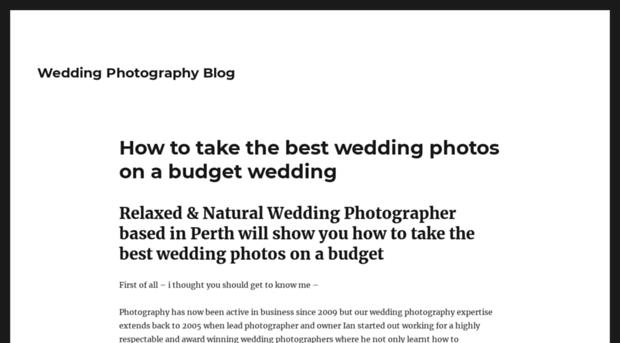 wedding-photography-blog.info
