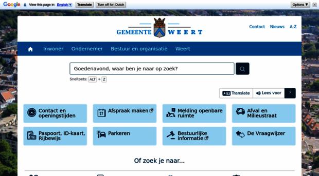 weert.nl