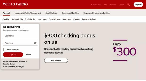 Wellsfargo Wells Fargo Banking Credit