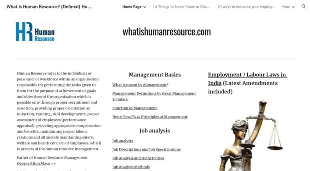 whatishumanresource.com