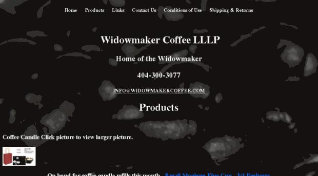 widowmakercoffee.com