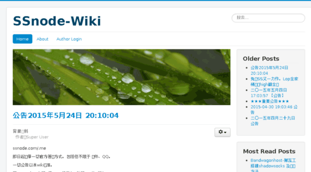 wiki.ssnode.com