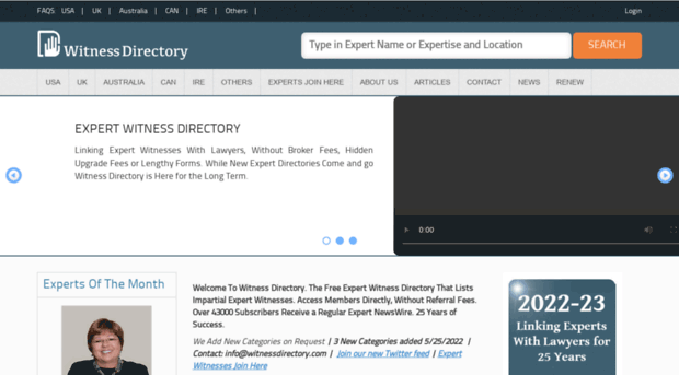 witnessdirectory.com