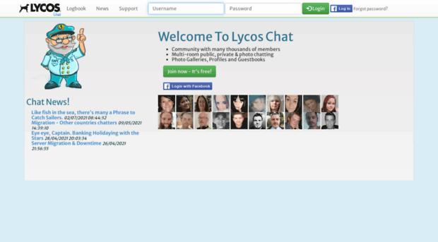 worldsbiggestchat.com - Lycos Chat | The Coolest Free ...