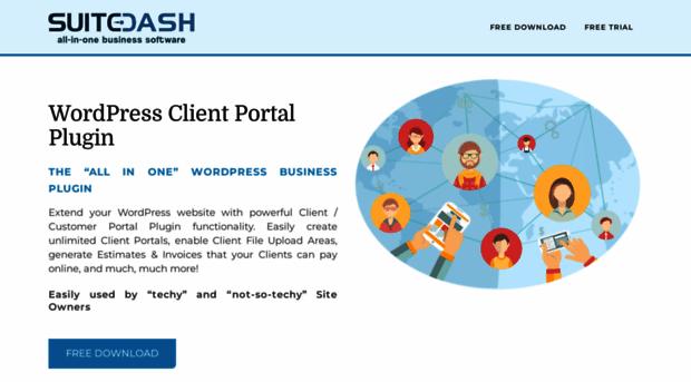 wp-client.com - WordPress Client Portal Area, ... - WP Clien