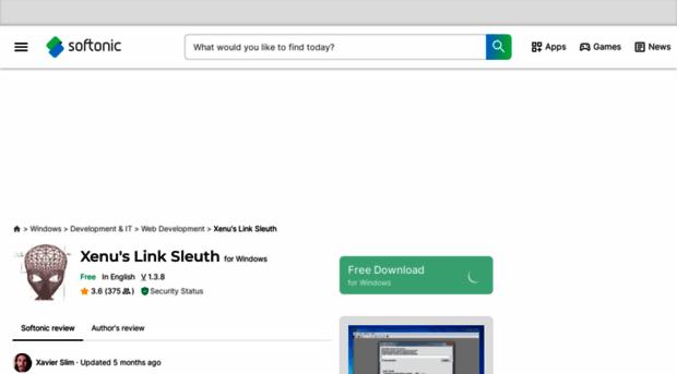 xenus-link-sleuth.en.softonic.com