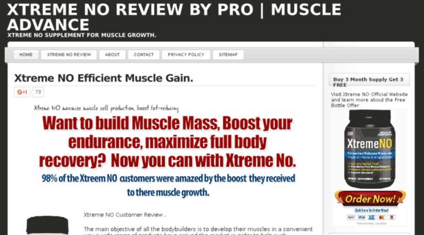Xtremeno Pro Com Xtreme No Review By Pro Musc Xtreme No Pro
