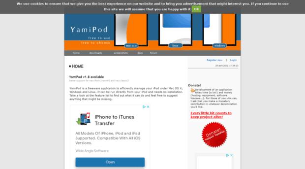 yamipod.com
