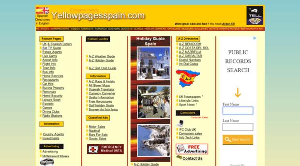yellowpagesspain.com