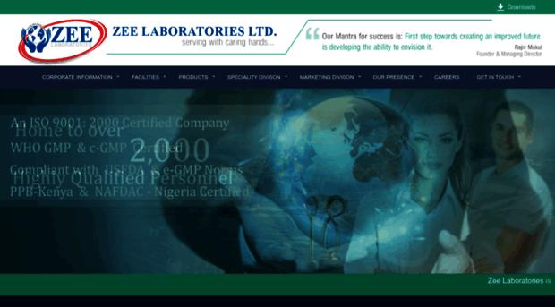 zee laboratories marketing solution