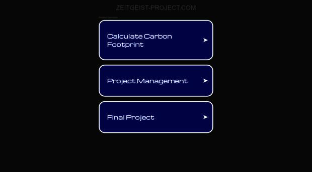 zeitgeist-project.com